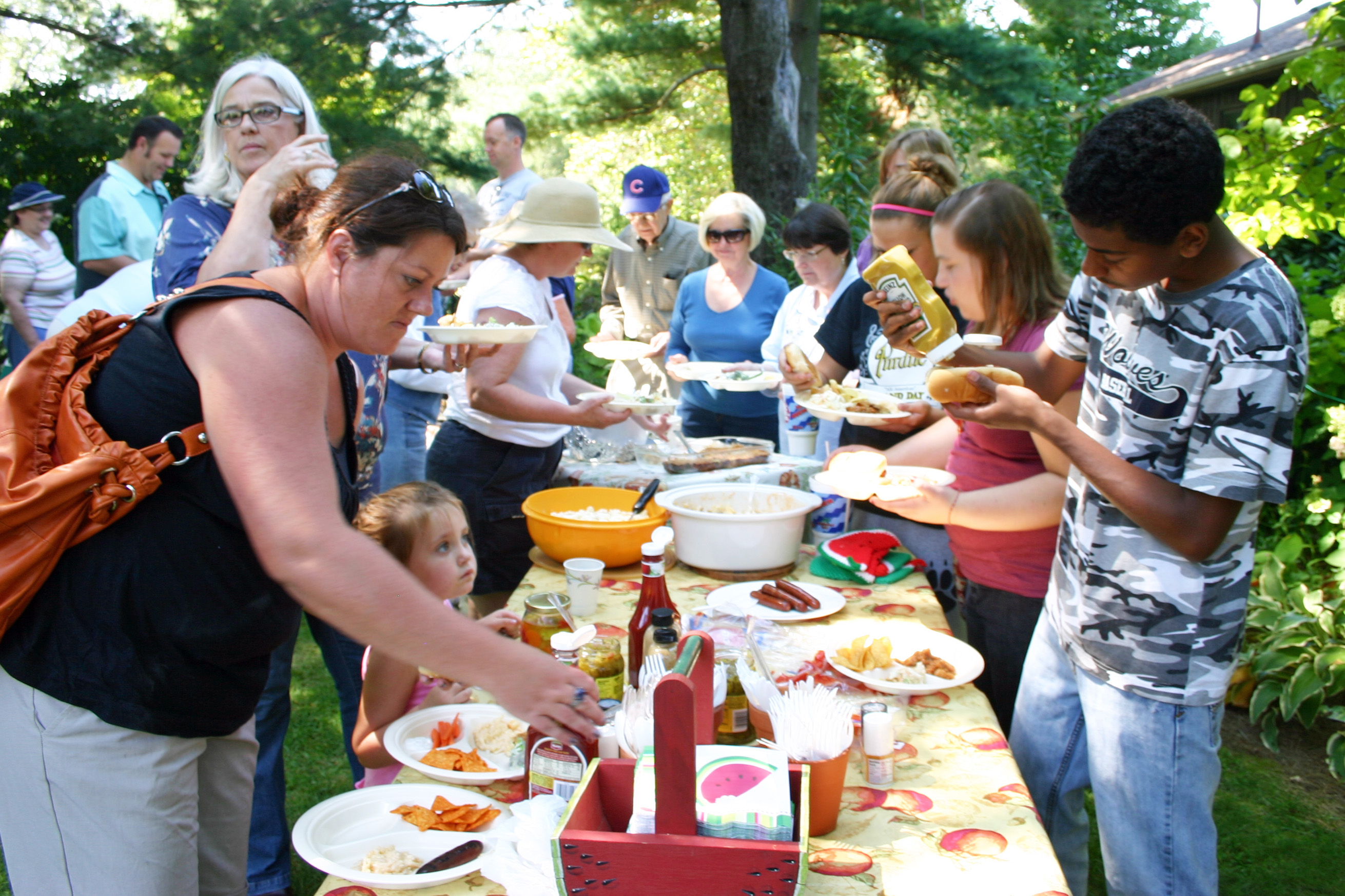 Church Picnic Sunday, August 24, 2014 12:30 pm – 3 pm