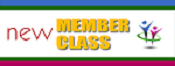 New Member Class   5-19 to 7-7-2019   9:45 am